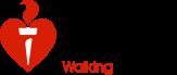 Heart Foundation Walking Logo
